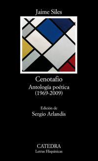 Libro CENOTAFIO: ANTOLOGIA POETICA