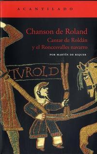 Libro CHANSON DE ROLAND: CANTAR DE ROLDAN Y EL RONCESVALLES NAVARRO