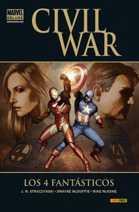 Libro CIVIL WAR: LOS 4 FANTASTICOS