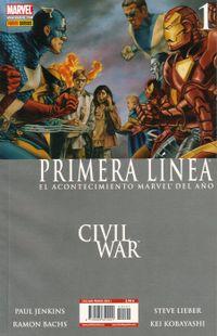 Libro CIVIL WAR: PRIMERA LINEA