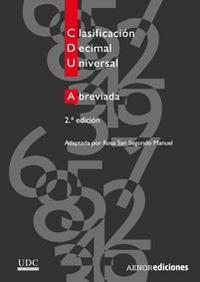 Libro CLASIFICACION DECIMAL UNIVERSAL ABREVIADA