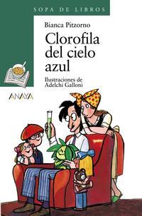 Libro CLOROFILA DEL CIELO AZUL