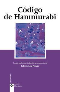 Libro CODIGO DE HAMMURABI