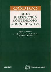 Libro CODIGO DE LA JURISDICCION CONTENCIOSO-ADMINISTRATIVA