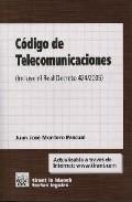 Libro CODIGO DE TELECOMUNICACIONES: