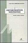 Libro COMENTARIO PRAGMATICO DE TEXTOS POLIFONICOS
