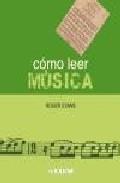Libro COMO LEER MUSICA