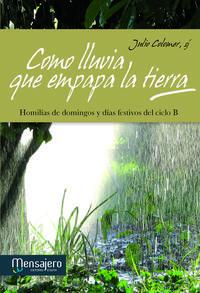 Libro COMO LLUVIA QUE EMPAPA LA TIERRA: HOMILIAS DE DOMINGOS Y DIAS FES TIVOS DEL CICLO B