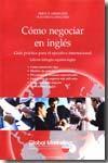Libro COMO NEGOCIAR EN INGLES