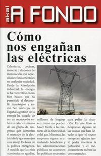 Libro COMO NOS ENGAÑAN LAS ELECTRICAS
