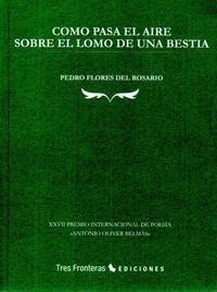 Libro COMO PASA EL AIRE SOBRE EL LOMO DE UNA BESTIA