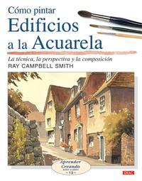 Libro COMO PINTAR EDIFICIOS A LA ACUARELA