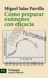 Libro COMO PREPARAR EXAMENES CON EFICACIA