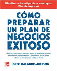 Libro COMO PREPARAR UN EXITOSO PLAN DE NEGOCIOS