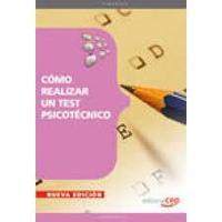 Libro COMO REALIZAR UN TEST PSICOTECNICO