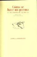Libro COMO SE HACE UN POEMA: EL TESTIMONIO DE 52 POETAS