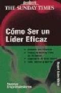Libro COMO SER UN LIDER EFICAZ