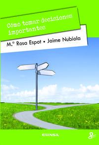 Libro COMO TOMAR DECISIONES IMPORTANTES