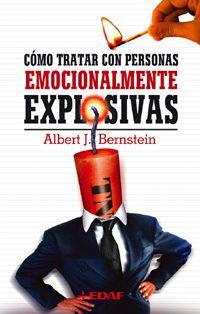 Libro COMO TRATAR CON PERSONAS EMOCIONALMENTE EXPLOSIVAS