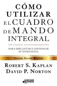 Libro COMO UTILIZAR EL CUADRO DE MANDO INTEGRAL