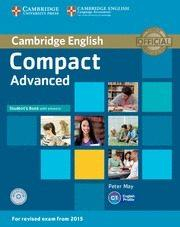 Libro COMPACT ADVANCED STUDENT S BOOK WITH ANSWERS WITH CD-ROM