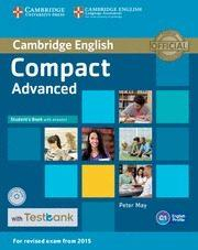 Libro COMPACT ADVANCED STUDENT S BOOK WITH ANSWERS, CD-ROM & TESTBANK