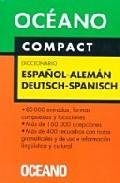 Libro COMPACT DICCIONARIO ESPAÑOL-ALEMAN DEUTSCH-SPANISCH