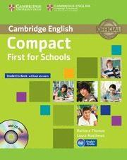 Libro COMPACT FIRST FOR SCHOOLS