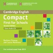 Libro COMPACT FIRST FOR SCHOOLS SECOND EDITION CLASS AUDIO CD