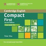 Libro COMPACT FIRST SECOND EDITION CLASS AUDIO CDS