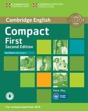 Libro COMPACT FIRST SECOND EDITION WORKBOOK WITH ANSWERS WITH AUDIO