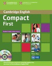Libro COMPACT FIRST STUDENT'S BOOK WITHOUT ANSWERS [WITH CDROM]