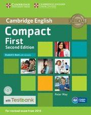 Libro COMPACT FIRSTSTUDENT S BOOK WITH ANSWERS, CD-ROM & TESTBANK