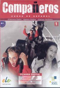 Libro COMPAÑEROS 1: CURSO DE ESPAÑOL: PIZARRA DIGITAL