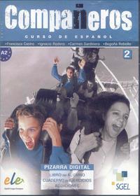 Libro COMPAÑEROS 2: CURSO DE ESPAÑOL: PIZARRA
