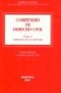 Libro COMPENDIO DE DERECHO CIVIL 05. DERECHO DE SUCESIONES