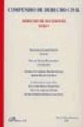 Libro COMPENDIO DE DERECHO CIVIL: DERECHO DE SUCESIONES