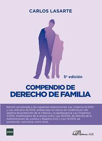 Libro COMPENDIO DE DERECHO DE FAMILIA