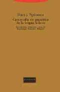 Libro COMPENDIO DE GRAMATICA DE LA LENGUA HEBREA