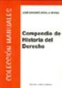 Libro COMPENDIO DE HISTORIA DEL DERECHO