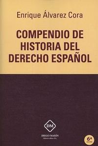 Libro COMPENDIO DE HISTORIA DEL DERECHO ESPAÑOL