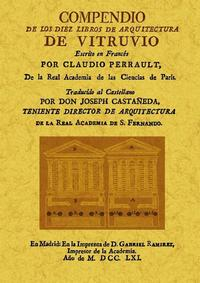 Libro COMPENDIO DE LOS DIEZ LIBROS DE ARQUITECTURA DE VITRUVIO