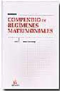 Libro COMPENDIO DE REGIMENES MATRIMONIALES