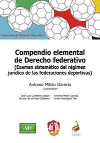 Libro COMPENDIO ELEMENTAL DE DERECHO FEDERATIVO