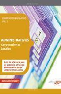 Libro COMPENDIO LEGISLATIVO ADMINISTRATIVOS DE CORPORACIONES LOCALES VO L I