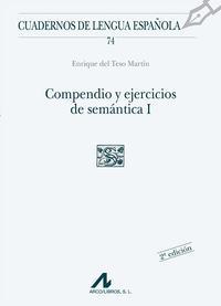 Libro COMPENDIO Y EJERCICIOS DE SEMANTICA I