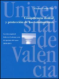 Libro COMPETENCIA DESLEAL Y PROTECCION DE LOS CONSUMIDORES