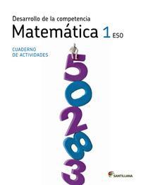 Libro COMPETENCIA MATEMATICAS 08 1º ESO