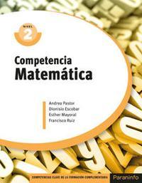 Libro COMPETENCIA MATEMÁTICA NIVEL 2 CERTIFICADOS DE PROFESIONALIDAD
