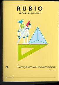 Libro COMPETENCIA MATEMÁTICAS 4
